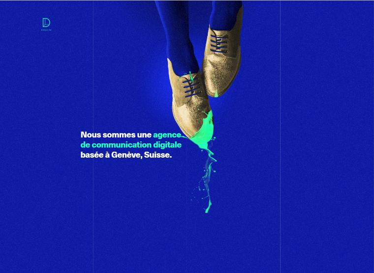 web design trends 2016 bold colours