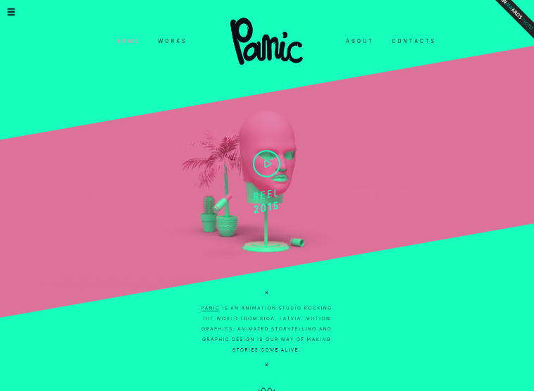 web design trends 2016 creative hover effects