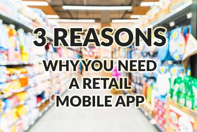 retail app development