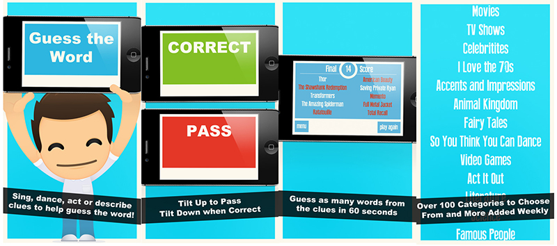 Charades Top 10 Word Card Games for Mobile Devices by Adoriasoft blog