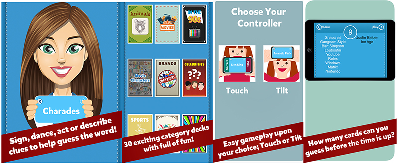 Charades Up Top 10 Word Card Games for Mobile Devices