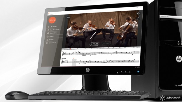 Sit-Ins desktop learning tool for musicians by Adoriasoft team