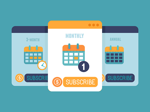 Subscription Top Mobile App Monetization Approaches by Adoriasoft blog