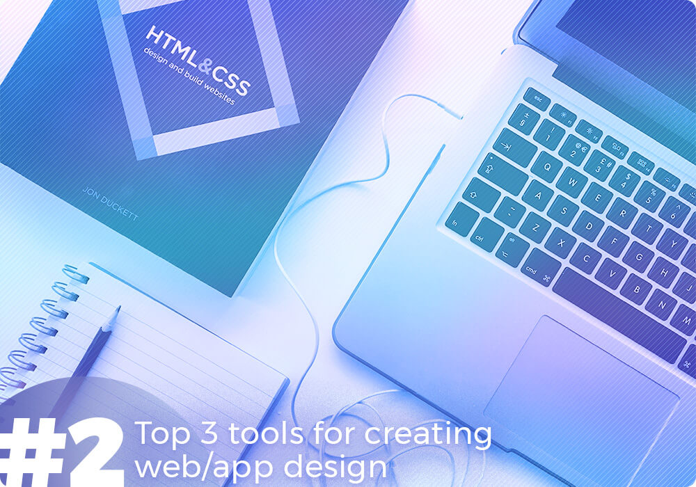 top 3 web design tools