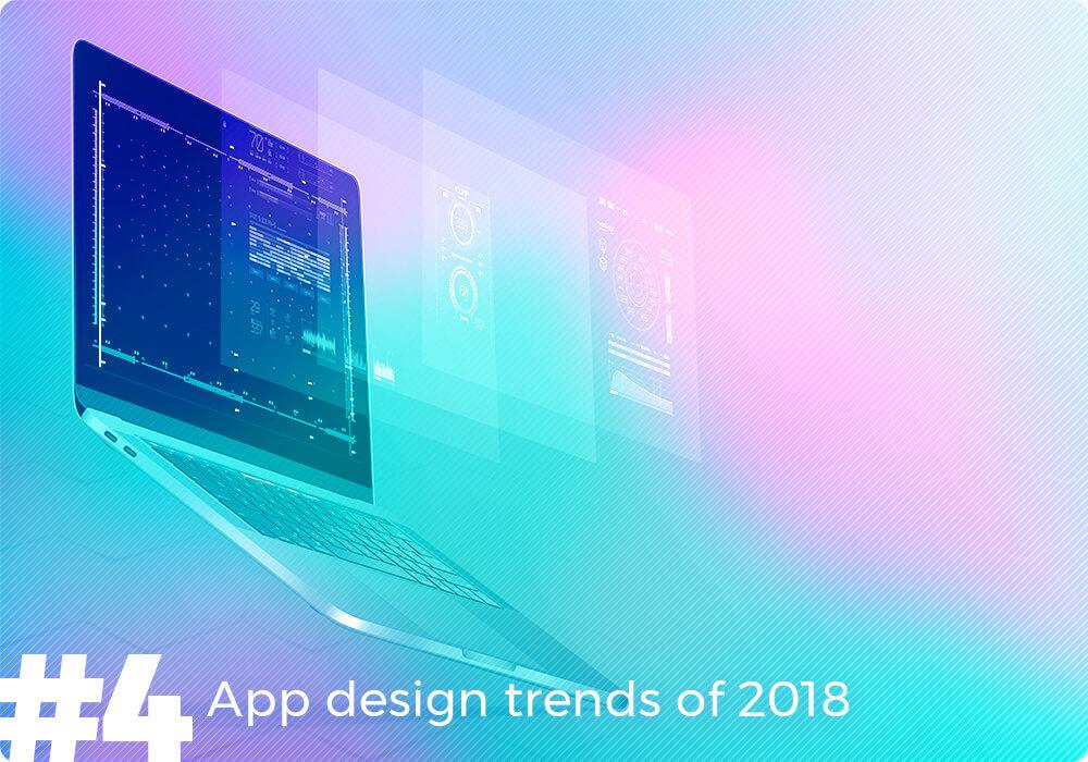 app design trends 2018
